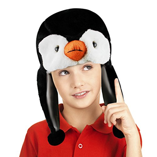[Cute Cartoon Animal Hood Hoodie Hat Costume Accessory Soft Plush Autumn Winter Warm Hat Beanie Caps Earflap Ear Warmer for Kids Boys Girls, Great Christmas Halloween Birthday] (Easy Cute Teenage Halloween Costumes)