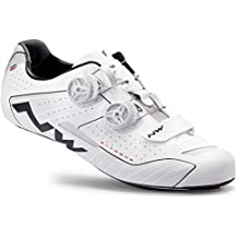 Northwave Man Road Cycling Shoes Extreme Wide White Reflective