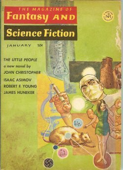 Books : The Magazine of FANTASY AND SCIENCE FICTION (F&SF): January, Jan. 1967