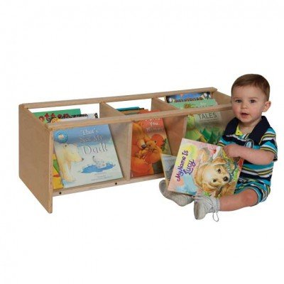 Wood Designs Kids Furniture WD99744 See-All Toddler Book Browser
