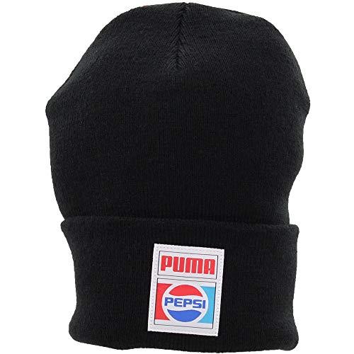 PUMA Mens Pepsi Beanie Casual Hats Beanie, Black, OSFA