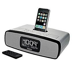 iP90 Desktop Clock Radio - Silver