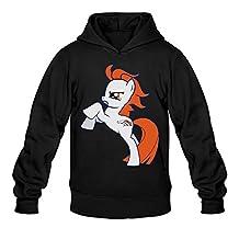 CYANY Super Bowl 50th Champion Denver Pony Broncos Men's Fashion Hoodies Sweater Black