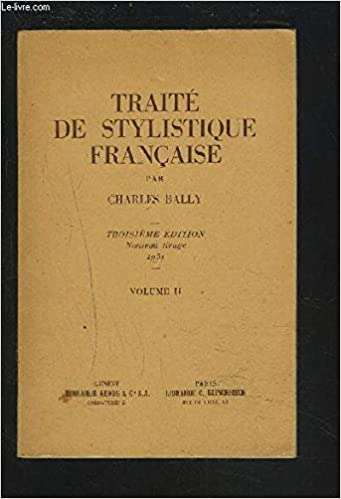 buying now shop best sellers shopping Amazon.com: Traite De Stylistique Francaise (French Edition ...
