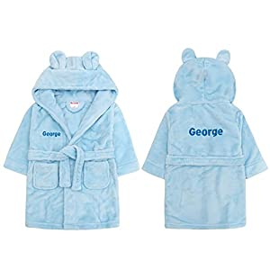 Kids Personalised Dressing Gown 1
