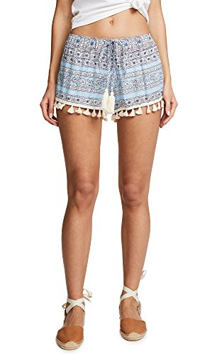 coolchange Women's Morning Glory Babe Shorts, Angel, Medium by Cool Change