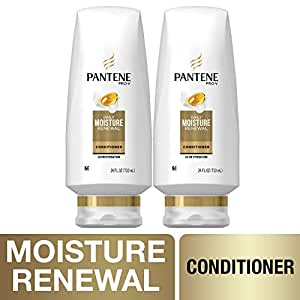 Pantene, Sulfate Free Conditioner, Pro-V Daily Moisture Renewal for Dry Hair, 24 Fl Oz, Twin Pack