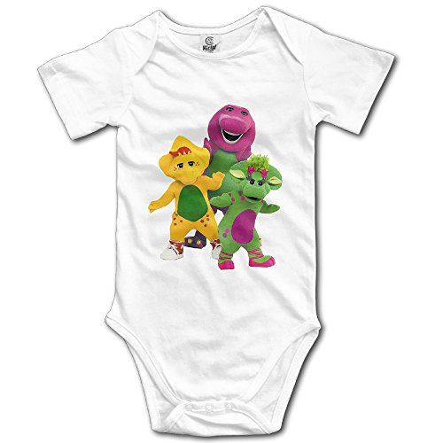 Barney And Friends Unisex For Babies Bodysuit Romper Jumpsuit Outfits - Barney And Friends Clothes