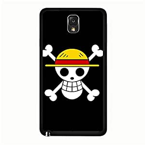Personality Skull one Piece Phone Case for Samsung Galaxy Note 3 N9005 Cartoon Anime Cover Case