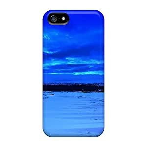 LfU25904cJuU Cases Covers Protector For Iphone 5/5s The Silence Blue Cases