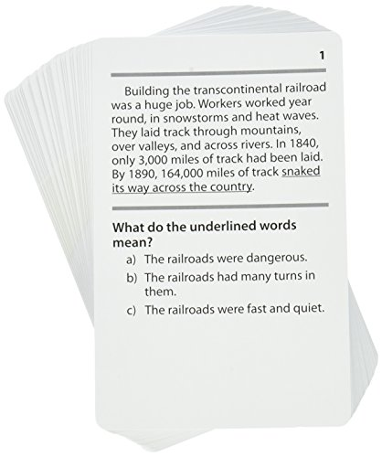 Reading Comprehension Practice Cards, Figurative Language, Green Level (EP63411) Photo #2