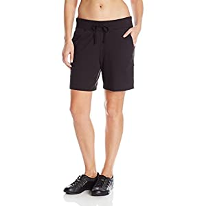 Hanes Women's Jersey Short, Black, X-Large