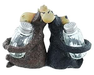 Moose Bear Salt & Pepper Shaker Set (Includes 2 Shakers), 7.5-inch by Moose Racing