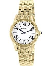 Seiko Women's SRZ440 Gold Stainless-Steel Quartz Watch