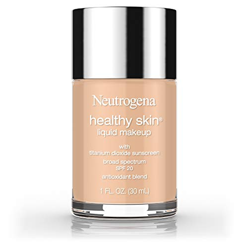 Neutrogena Healthy Skin Liquid Makeup Foundation, Broad Spectrum Spf 20, 105 Caramel, 1 Oz.