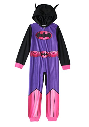 Price comparison product image Batgirl Girls Sleeper with Hoodie (M-7/8)