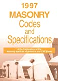 Masonry Codes and Specifications Handbook, 1997, Chrysler, John and Escobar, Thomas, 0849375487
