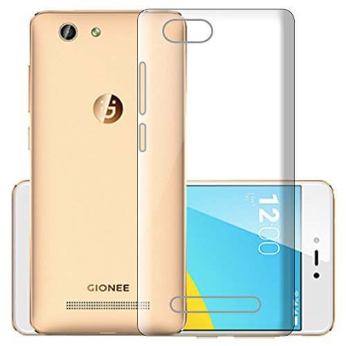 ECellStreet Silicone Soft Back Cover for Gionee F103 Pro (Transparent)