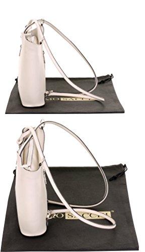 et en à rangement un nbsp;Comprend Blanc moyennes cuir bandoulière de italien marque sac Cassé dos de à à grandes ou main main la protecteur Sac sac fabriqué nbsp;Versions Moyen à sac 0OwH4x1q