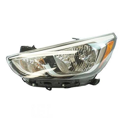 (Halogen Headlight Lamp Assembly LH LF Driver Side for Hyundai Accent)