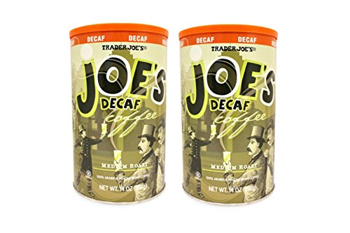 Cinderella Movie Treat Bag (Trader Joe's Medium Roast 100% Arabica Whole Bean DECAF Coffee: 2 Pack - 14oz (397g))
