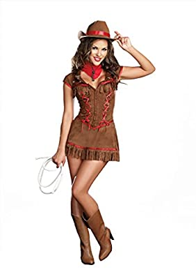 Dreamgirl Women's Giddy Up Cowgirl Costume