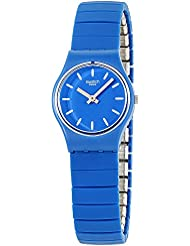 Swatch Originals Flexiblu Blue Dial Stainless Steel Ladies Watch LN155B