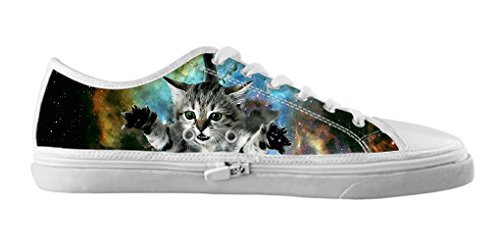 Dalliy Galaxie Katze Galaxy Cat Mens Canvas shoes Schuhe Footwear Sneakers shoes Schuhe A