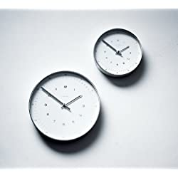 Max Bill Wall Clock with Numbers 11.8 (30cm)