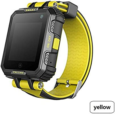 ZLOPV Pulsera Activa Smart Watch GPS WiFi Anti-perdida ...