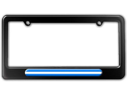 License Emt Plates (Thin White Line - Medical Doctor RN EMT License Plate Tag Frame)