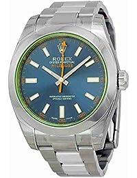 Milgauss Blue Dial Stainless Steel Mens Watch 116400GV