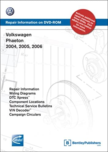 41 83DPaDpL._SX353_BO1204203200_ volkswagen phaeton 2004, 2005, 2006 repair manual on dvd rom 2006 Volkswagen Phaeton Interior at suagrazia.org