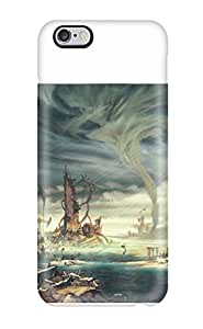 Durable Protector Case Cover With Anarchy Reigns Warrior Sci-fi Anime City Apocalyptic Hot Design For Iphone 4/4s