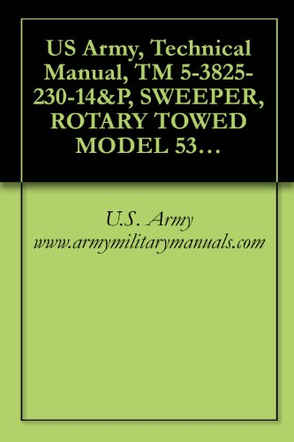 (US Army, Technical Manual, TM 5-3825-230-14&P, SWEEPER, ROTARY TOWED MODEL 53MH, military manuals)