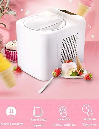 NLRHH Sorbetière électronique, crème glacée yogourt glacé Sorbet Maker, Mise à Niveau, Pas Besoin d'effectuer Une pré-Gel, Une clé 1L de réfrigération Automatique Peng