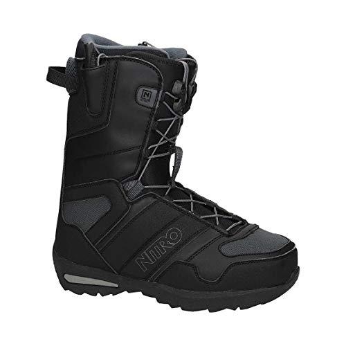 Nitro Vagabond TLS Snowboard Boots Men's Black 10.5 - Nitro Snow Boots