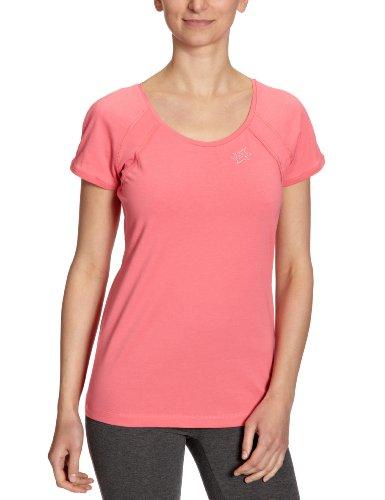 Lotto Sport - Camiseta de deporte para mujer Rojo (coral)