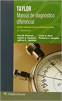 Taylor. Manual De Diagnóstico Diferencial por Paulman epub