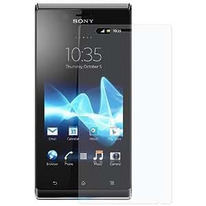 Amzer Kristal - Protector de pantalla para Sony Xperia J