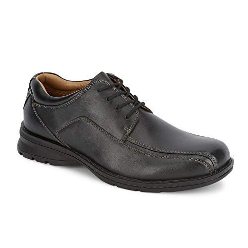 Dockers Mens Trustee Leather Dress Casual Oxford Shoe, Black, 14 ()
