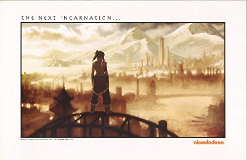 The Legend of Korra San Diego Comic Con 11 x 17 Poster from The Legend of Korra