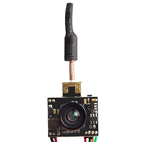 Wolfwhoop Combo2 Micro AIO Camera and 5.8GHz 25mW/50mW/100mW/200mW VTX Integrated FC Uart and A Dipole Antenna or FPV Quadcopter - Breakout Cable Video