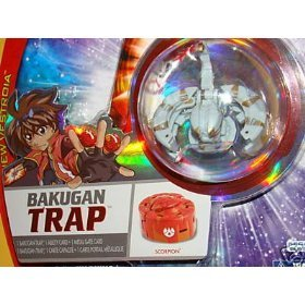 Spin Master 7Z-V81X-K7AU BAKUGAN NEW SEALED VESTROIA BAKUNEON TRAP LUMINOZ SCORPION FACTORY SEALED P..