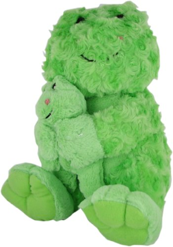 Beverly Hills Teddy Bear Co. Plush Swirl Pet Frog with - Stores Hills Beverly