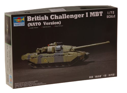 British Battle Main Tank (Trumpeter British Challenger I Main Battle Tank NATO Version (1/72 Scale))
