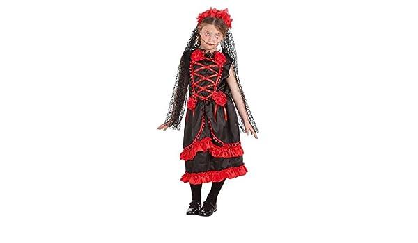 LLOPIS - Disfraz Infantil Catrina Flores t-s: Amazon.es: Juguetes ...
