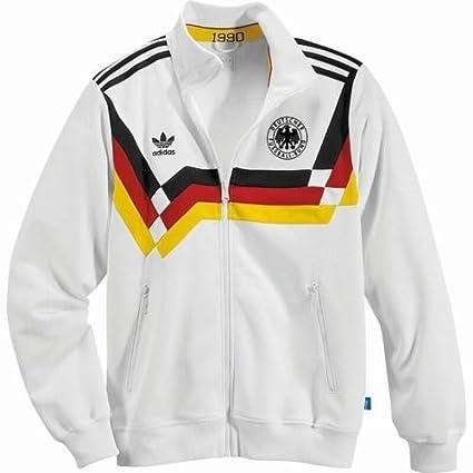 adidas Alemania Chaqueta DFB Retro 1990 TT - L: Amazon.es: Deportes y aire libre
