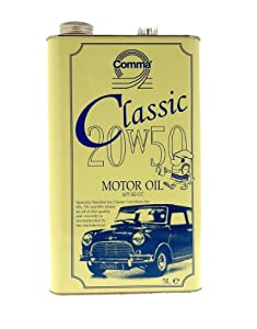 Comma cla20505l 5l 20w 50 classic motor oil for Api motor oil guide
