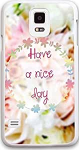 Galaxy S5 Case, Dseason Samsung Galaxy S5 Hard Case NEW High Quality Unique Design Christian Quotes have a nice day